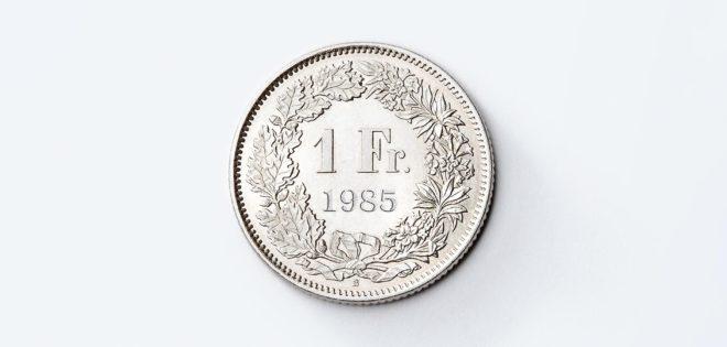 Schweizer Franken als Symbolbild